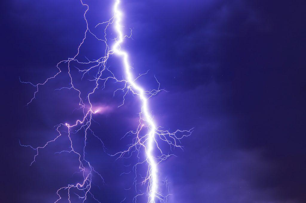 Donner, Blitz und Sturm