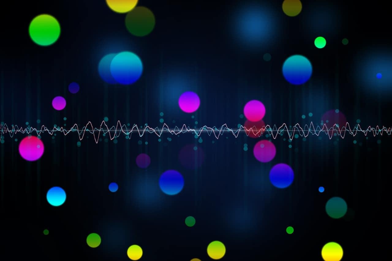Musik, Lichtkugeln