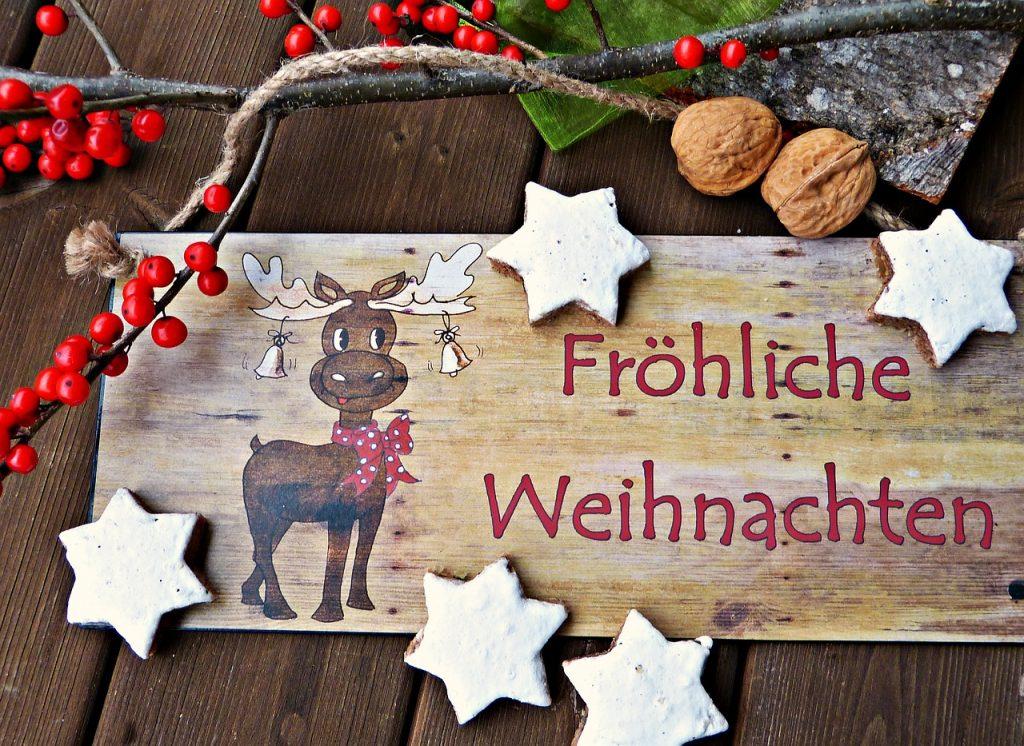 Frohe Weihnachten mit AntiStress Keksen